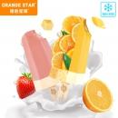 橙色星球 网红水果冰淇淋 12支69元冷链直达