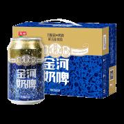 300mlx6罐 宁夏金河 乳酸菌奶啤