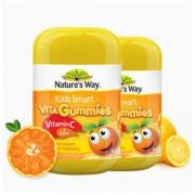 Nature's Way 佳思敏 儿童维生素c+锌软糖 60粒 2瓶装 *3件248.37元(合82.79元/件)