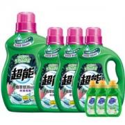 PLUS会员:超能 时尚炫彩洗衣液 薰衣草香11.74斤套送3瓶手洗洗衣液*2件