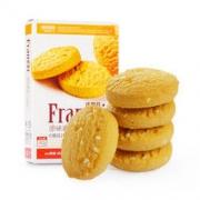 法丽兹 原味曲奇饼干 糕点点心 办公室小零食 102g/盒 *3件14.49元(合4.83元/件)