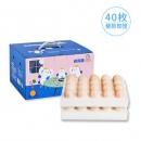 五星级酒店供应商 鸡仔总动员 当天产A级生鸡蛋 40枚 无菌无抗生素32.9元包邮