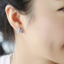 Doulaimei 都来美 925银 耳钉(夹款) 9.9元包邮¥10