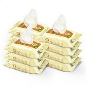 RUNBEN 润本 婴儿手口湿巾 20抽×10包 *2件