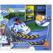 Silverlit 银辉 珀利POLI 汽车玩具 动漫周边 珀利发射轨道系列 *2件228元(合114元/件)