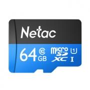 Netac 朗科 蓝卡 TF(microSD)存储卡 64GB 26.9元包邮