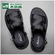 木林森 夏季新款防滑气垫凉鞋79元包邮(需用券)