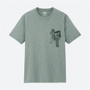 UNIQLO 优衣库 427614 男装/女装 SHODO ART 印花T恤39元