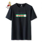 稻草人 M19T24 男士微弹条纹T恤