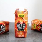 白菜价:百芝源 橙果乐鲜榨橙汁饮料 330ml*6瓶16.8元包邮(需用券)