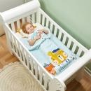 gb 好孩子 婴儿纯棉保暖超柔毛毯 39元包邮(需用券)¥39