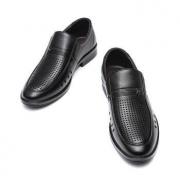 红蜻蜓 WTL201441A 男士一脚蹬休闲皮鞋低至114元包邮