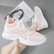 2020春夏新款运动鞋女轻便软底小椰子鞋女跑步鞋百搭学生休闲鞋