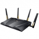 ASUS 华硕 RT-AX88U 无线路由器 MU-MIMO/WiFi6/双频四核八LAN口6000M
