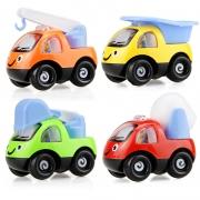 移动端:儿童回力玩具车卡通工程车 塑胶仿真模型汽车玩具 1个装1元包邮(需用券)