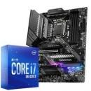 intel 英特尔 酷睿 i7-10700K 盒装CPU处理器 微星 MAG Z490 TOMAHAWK 战斧导弹主板 板U套装4499元
