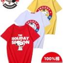Snoopy 史努比 儿童100%纯棉短袖 110-165cm19.9元包邮拍4件63.9元