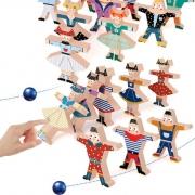 帅帅狗 儿童歌舞会叠叠乐积木 初阶基础款8个 袋装 6.9元包邮(需用券)¥7