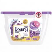 Downy 当妮 2合1洗衣凝珠 淡紫薰香 19颗*2盒 +凑单品