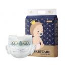 88VIP:BabyCare 皇室系列 超薄纸尿裤 NB68片 83.6元包邮(需用券,赠BabyCare棉柔巾1包)¥158