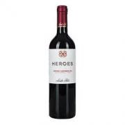 Santa Rita 圣丽塔 英雄系列 赤霞珠干红葡萄酒 2016 750ml *2件65元(合32.5元/件)