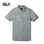 Baleno 班尼路 28804011 男士短袖衬衫 多款可选低至49.5元/件