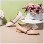 ST&SAT 星期六 SS93111033 女士平底玛丽珍单鞋269元