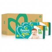 Pampers 帮宝适 超薄干爽系列 婴儿纸尿裤 XL128片*2件398元(需用券,合199元/件)