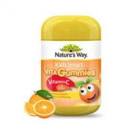 Nature's Way 佳思敏 儿童维生素c 锌软糖 60粒 2瓶装 *3件