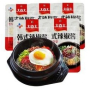 大喜大韩式辣椒酱3袋 韩国料理石锅拌饭酱下饭酸甜辣酱辣炒年糕酱8.7元