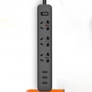 MI 小米 排插 3孔3usb插座 1.8m48元包邮