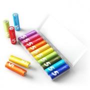 MI 小米 5号/7号碱性彩虹电池 10粒 9.9元包邮