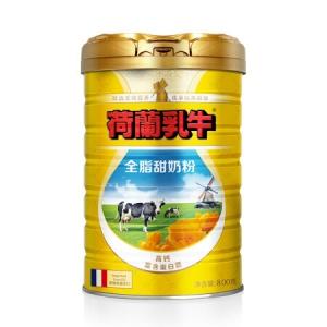 DutchCow 荷兰乳牛 全脂甜奶粉 800g *4件