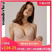wonderbra WBWBR-9A09T 蕾丝性感文胸 *3件252元(合84元/件)