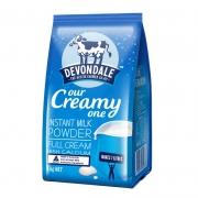 Devondale 德运 全脂高钙成人奶粉 1000g *2件 108元包邮(需用券)¥108