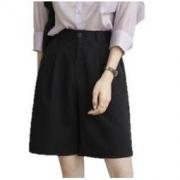 HERSCITY 女款直筒型五分裤