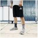 Adidas 阿迪达斯 adiKTW1S-BW 男士运动短裤89元