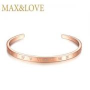Max&Love钻石手镯玫瑰金色89元包邮(需用券)
