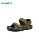 hotwind 热风 H60M9611 男士休闲凉鞋55.2元