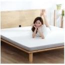 8H乳胶床垫1.8m可折叠床垫黄麻棕榈护脊偏硬薄席梦思MC小米生态链949元