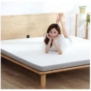 8H乳胶床垫1.8m可折叠床垫黄麻棕榈护脊偏硬薄席梦思MC小米生态链