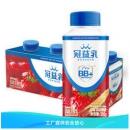 蒙牛 冠益乳 小蓝帽燕麦草莓味酸奶 250g*4瓶 *3件36.5元(多重优惠)
