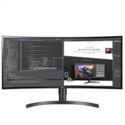 LG 34英寸 2K曲面带鱼屏 IPS屏 HDR 低闪屏滤蓝光 升降底座 阅读模式 显示器 34WL75C