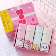 拉拉兔 女童纯棉内裤 4条装 19.9元包邮(需用券)¥20