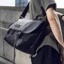 COMBACK 黑魂皮革系列 单肩斜挎包 15吋198.4元包邮