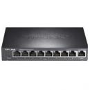 TP-LINK 普联 TL-SF1009P 9口百兆8口POE非网管PoE交换机289元