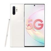 三星Galaxy Note10+ 5G(SM-N9760)骁龙855 后置四摄 智能S Pen 全网通双卡双待 游戏手机12GB+256GB密斯白6299元包邮