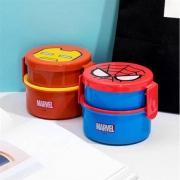 MINISO 名创优品 漫威系列 双扣双层便当盒 钢铁侠款 *2件15元(折合7.5元/件)