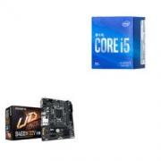 Intel 英特尔 酷睿 i5 10400F CPU处理器 GIGABYTE 技嘉 B460M D2V 主板