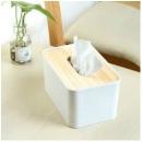 Neyankex 日式简约原木盖纸巾盒13.9元
